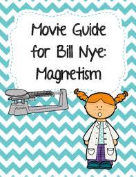 video worksheet movie guide for bill nye magnetism