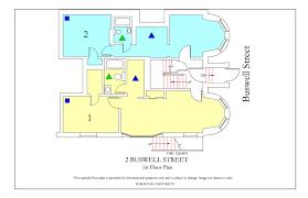 fire escape floor plan 2 buswell street housing boston university