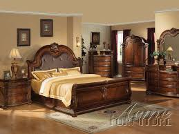 Cherry Wood Bedroom Furniture Bedroom Amusing Image Of Bedroom Decoration Using Curved Solid