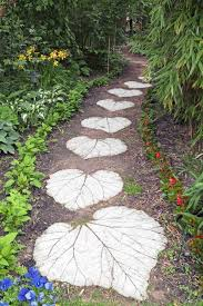 best 25 concrete stepping stones ideas on stepping