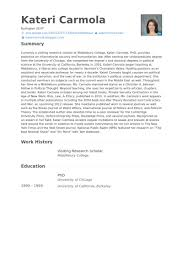 Research Resume Examples by Research Scholar Resume Samples Visualcv Resume Samples Database