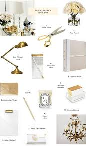 Gold Home Decor Accessories Best 25 Chic Office Decor Ideas On Pinterest Gold Office Gold
