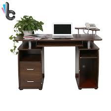 bureau pc portable ordinateur de bureau pc portable table avec de stockage de bureau à