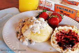 country style biscuits u0026 gravy perfect for mother u0027s day brunch