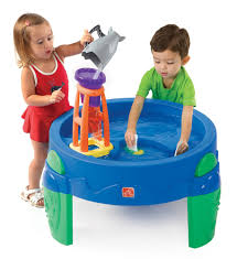 amazon com step2 waterwheel play table toys u0026 games outside