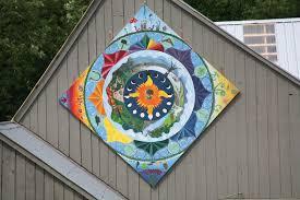 Barn Murals Making Mandala Murals Sterling College
