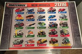 matchbox honda odyssey here is the artwork for all 25 matchbox new models in 2016