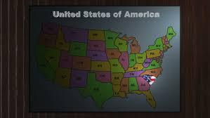 america map carolina zooming into south carolina america stock footage 446065