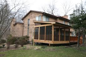mcwhorter outdoor living builds a screen porch in columbia md