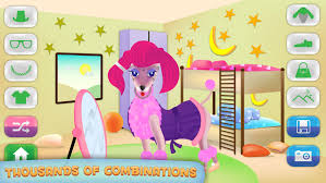 dog dress up free pet day care game for kids