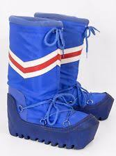 womens moon boots size 9 s vintage us size 9 ebay