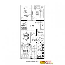 home design for 20x50 plot size stunning 50 yards house plan photos best inspiration home design