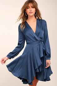 sleeve wrap dress lost wander elsa woven wrap dress sleeve dress