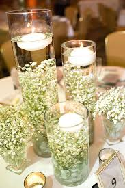 wedding candle centerpieces wedding reception centerpieces candles submerged breath for a