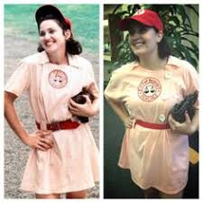 Rockford Peach Halloween Costume League Wasn U0027t Designed Women Simply Replacing Men