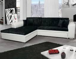 canapé d angle convertible noir canapé angle convertible blanc noir noir blanc marron beige