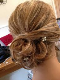 curly wedding hair styles wedding hairstyles curly side bun with