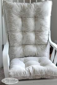 cushions for rocking chairs nursery chair cushions in fabrics you
