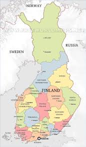 Free World Maps by Finland Maps By Freeworldmaps Net