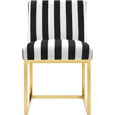 Black And Gold Accent Chair Tov Furniture Tov D41 Haute Accent Chair In Paris Black U0026 White