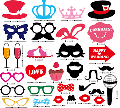 photo booth props for sale aliexpress buy 63 pcs wedding photo booth props