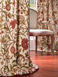 Silk Plaid Drapes Buy Frances Embroidered Cotton Crewel Curtain U0026 Drapes
