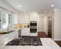 medallion kitchen cabinetry with subzero double wall ovens and
