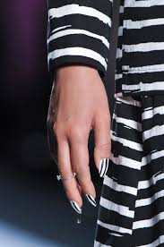 nail trends for 2014 stripes and jewels