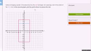 plotting a point ordered pair video khan academy