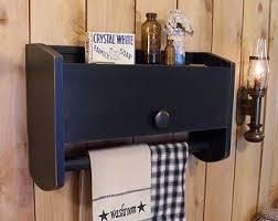 primitive towel rack etsy
