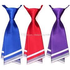 neck ties fashion blue necktie crew cut cravat ties service