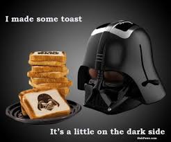 Toast Meme - dark side of the toast halipawz halipawz