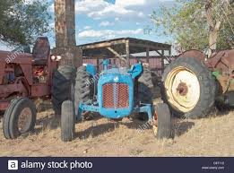tractors become lawn ornaments to a tractor collector in corona