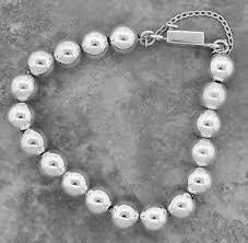 sterling bead bracelet images Ladies vintage silpada 925 sterling silver ball beaded bracelet ebay jpg