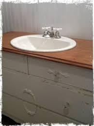 Dresser Turned Bathroom Vanity Old Dresser Turned Bathroom Vanity Dresser Vanities And