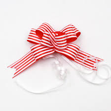 pull ribbon logo printed satin ribbon pull bow view pull string ribbon bow