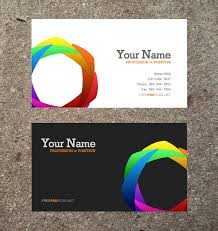 business cards template free business template