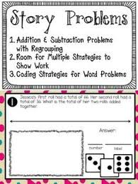 subtraction word problems with regrouping word problems words