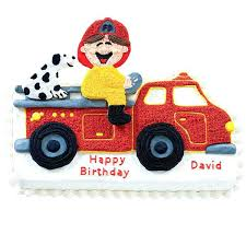 firefighter cupcake toppers truck cake topper babycakes site
