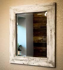 Reclaimed Wood Bathroom Mirror Fabulous Best 25 Reclaimed Wood Mirror Ideas On Pinterest Modern