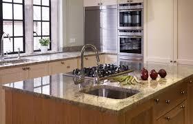 sink island kitchen terrific kitchen island with sink and hob also kashmir white