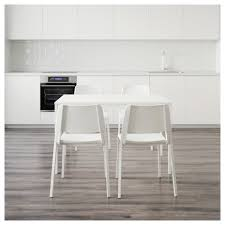 teodores vangsta table and 4 chairs white white 120 180 cm ikea