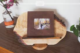rustic wedding albums rustic wedding photo albums columbia mo