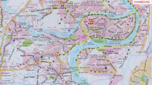China Maps by Chongqing Travel Maps Detailed Map Of Chongqing China China Map