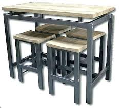 table de cuisine avec tabouret table cuisine avec tabouret cuisine avec table haute table haute de