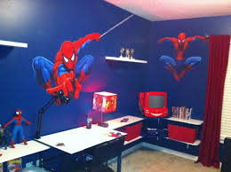 spiderman bedroom decor love this wall colour and the curtains new house ideas