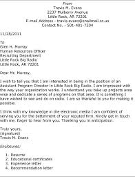 good example of a cover letter for job 21 best 25 examples letters