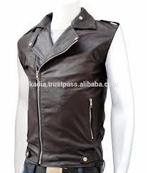 sleeveless leather jacket sleeveless leather jacket suppliers and