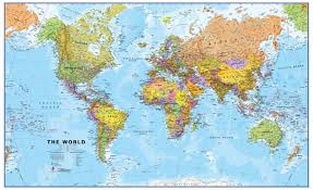 Russia Map Image Large Russia by Political World Maps Large World Maps World Wall Maps