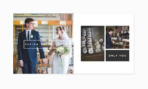 modern photo album only you modern wedding album the shoppe designs